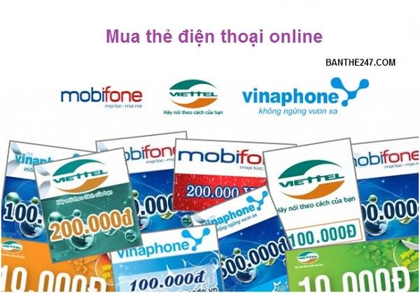 Bí kíp mua thẻ điện thoại online giá rẻ mà uy tín