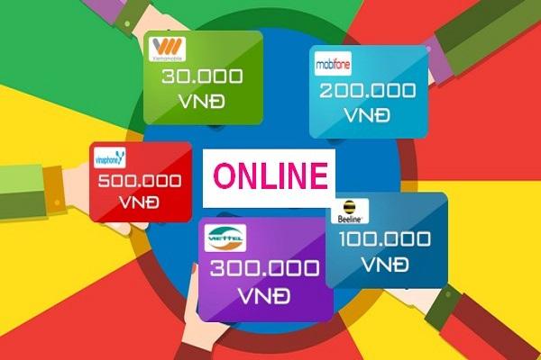 Thiên đường mua thẻ điện thoại online bằng thẻ ATM