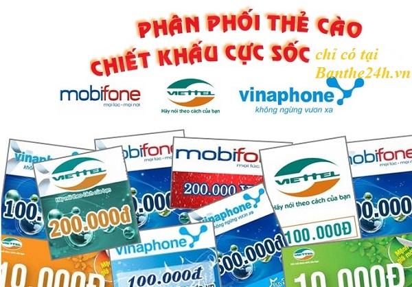 Mua thẻ điện thoại online cho thuê bao Viettel