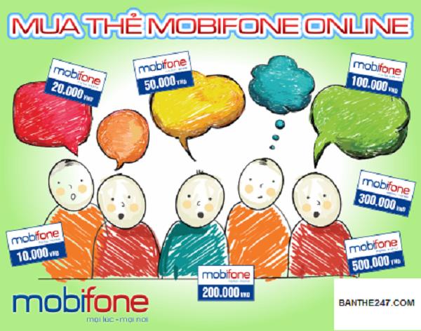 Cách mua thẻ điện thoại cho thuê bao Mobifone đơn giản