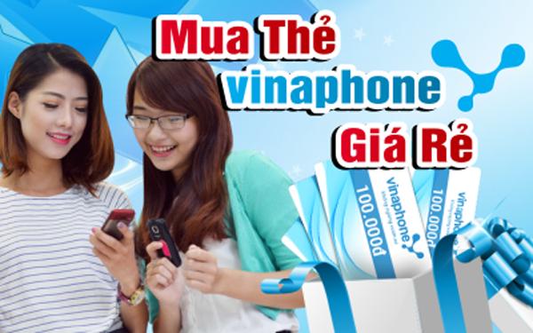 Hướng dẫn mua thẻ điện thoại Vinaphone đơn giản