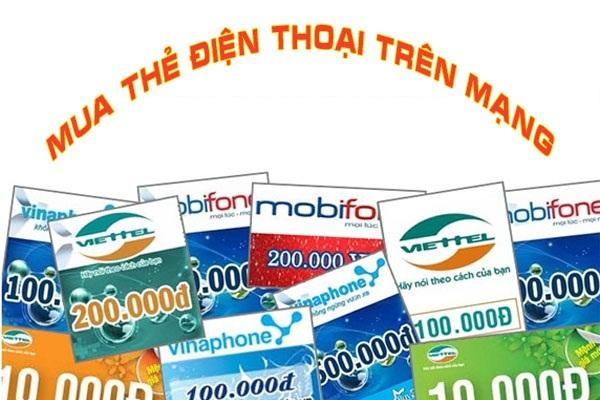 """Cách mua thẻ điện thoại online nhanh như """"tia chớp"""""""
