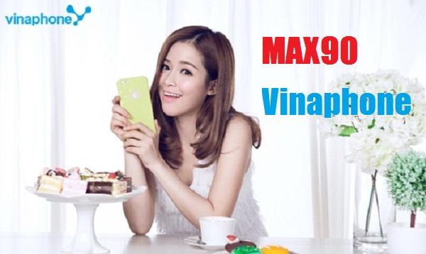 Mẹo đăng ký nhanh gói cước MAX90 Vinaphone