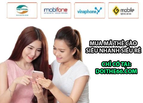 Mua thẻ cào, thẻ điện thoại online giá rẻ và siêu tiện ích!