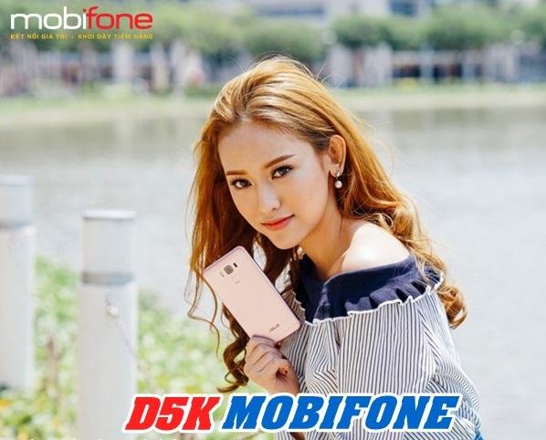 Đăng ký gói cước D5K Mobifone chỉ với 5.000đ