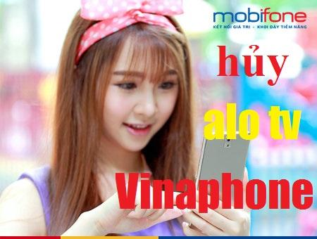 Hướng dẫn hủy dịch vụ ALO TV Vinaphone siêu nhanh qua tin nhắn