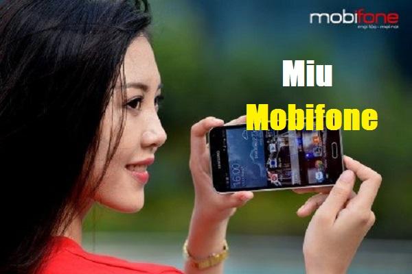 Đăng ký gói cước MIU Mobifone chỉ với 1 tin nhắn