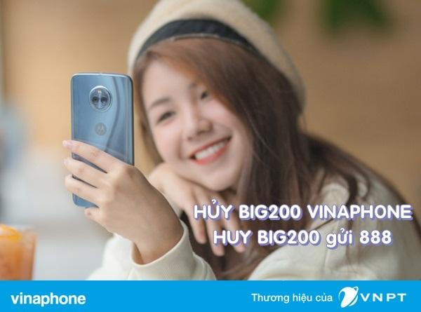 Chi tiết cách hủy gói cước BIG200 Vinaphone siêu nhanh