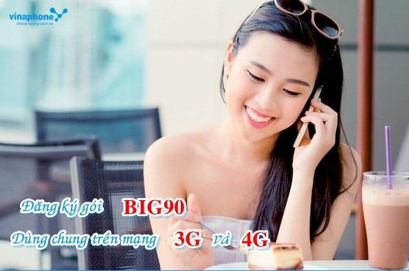 Chi tiết cách đăng ký gói cước BIG 90 Vinaphone qua tin nhắn