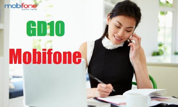 Bật mí các ưu đãi từ gói GD10 của Mobifone