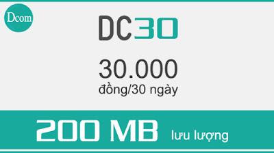 Mách bạn cách đăng ký gói cước DC30 Viettel