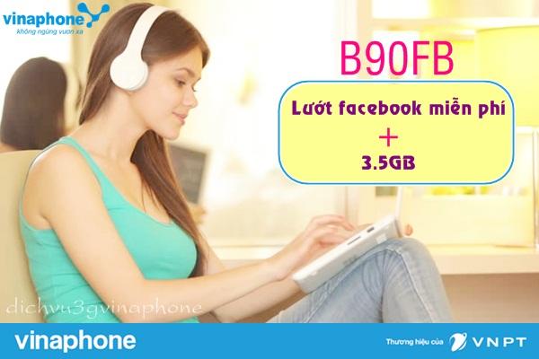 Gói B90FB Vinaphone có những ưu đãi gì ?