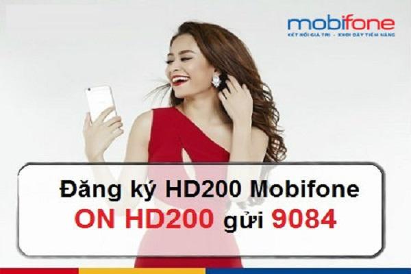 Chi tiết thông tin ưu đãi về gói cước HD200 Mobifone