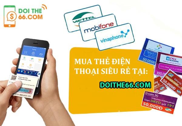 Mua thẻ điện thoại siêu rẻ cực hấp dẫn trên thị trường ở đâu?