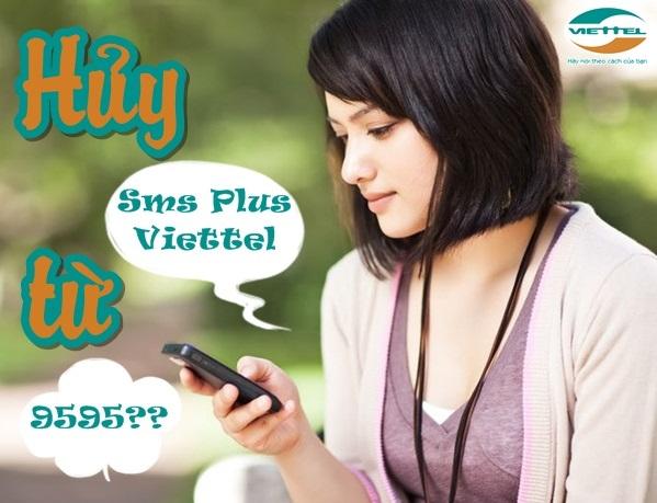 Bật mí cách hủy dịch vụ SMS Plus Viettel qua tin nhắn
