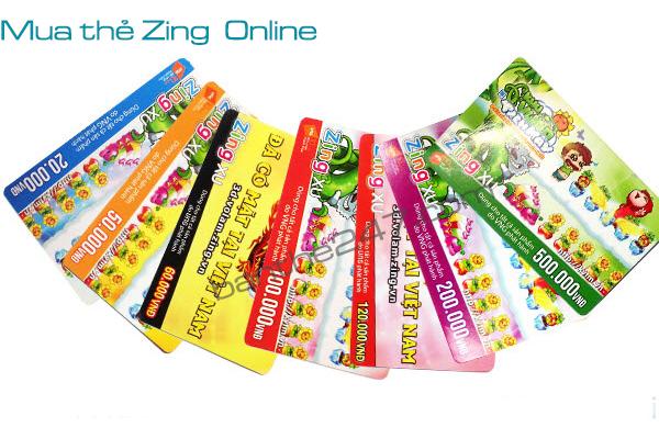 Cách mua thẻ Zing chỉ trong vòng một nốt nhạc tại Banthe247.com