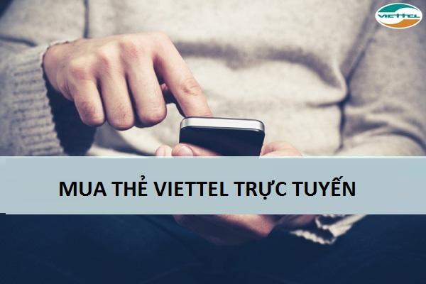 Hướng dẫn cách mua thẻ viettel trực tuyến đơn giản hiện nay