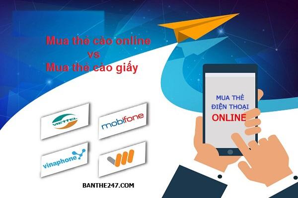 Nhận ưu đãi hấp dẫn khi mua thẻ điện thoại online