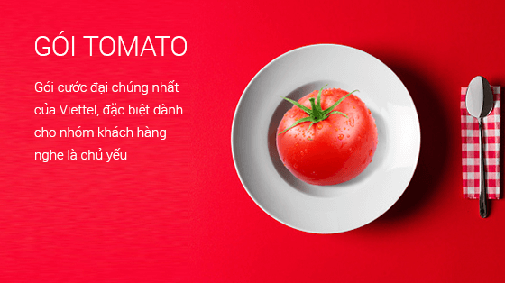 Những thông tin cần biết về gói cước Tomato Viettel
