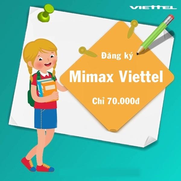 Những thông tin cần nắm về gói Mimax Viettel giá rẻ