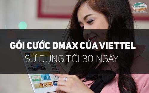Chi tiết cách đăng kí gói Dmax Viettel nhận ngay 1.5GB
