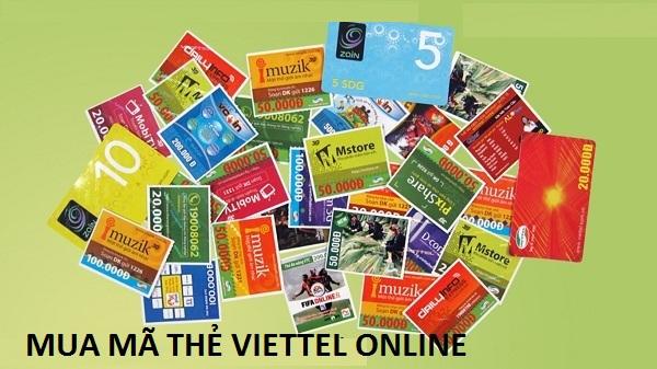 Làm sao để mua mã thẻ viettel online dễ dàng