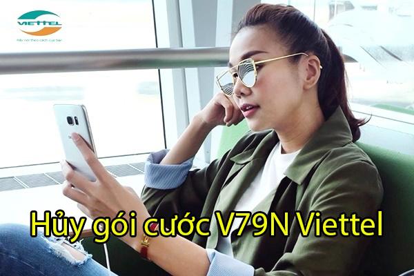 Làm thế nào để hủy gói cước V79N Viettel qua tin nhắn