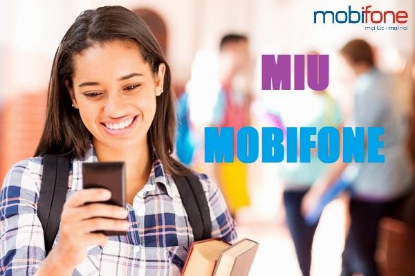 Thông tin các ưu đãi từ gói MIU Mobifone