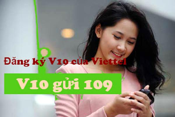 Đăng kí nhận gói V10 viettel  nhận ngay 39 phút ưu đãi
