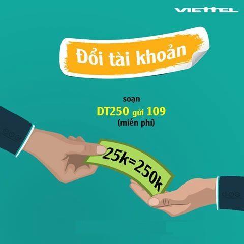 Hướng dẫn cụ thể cách đăng kí gói DT250 Viettel chỉ từ 25K đến 250K