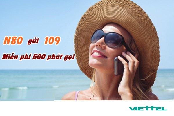 Nhanh chóng đăng kí gói N80 Viettel nhận ngay ưu đãi lớn nhất