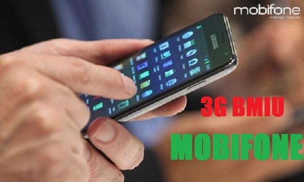 Chi tiết cách đăng ký gói cước 3G BMIU Mobifone