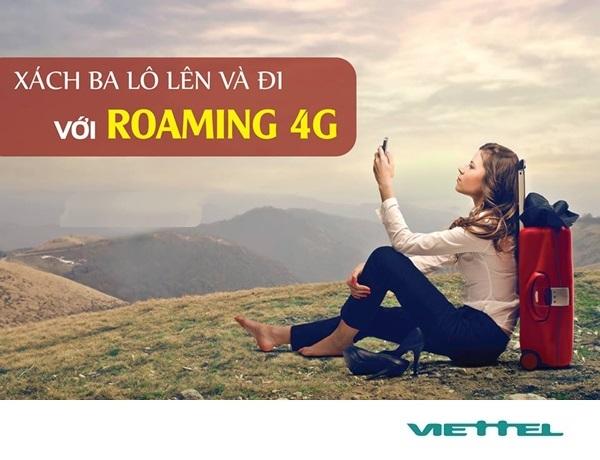 Hướng dẫn cách sử dụng dịch vụ roaming 4G viettel  siêu khủng khi ở nước ngoài