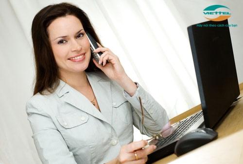 Đăng ký gói C1000 Viettel  thoải mái gọi thoại mọi lúc mọi nơi