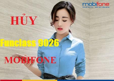 Mẹo hủy nhanh dịch vụ Funclass 9026 Mobifone