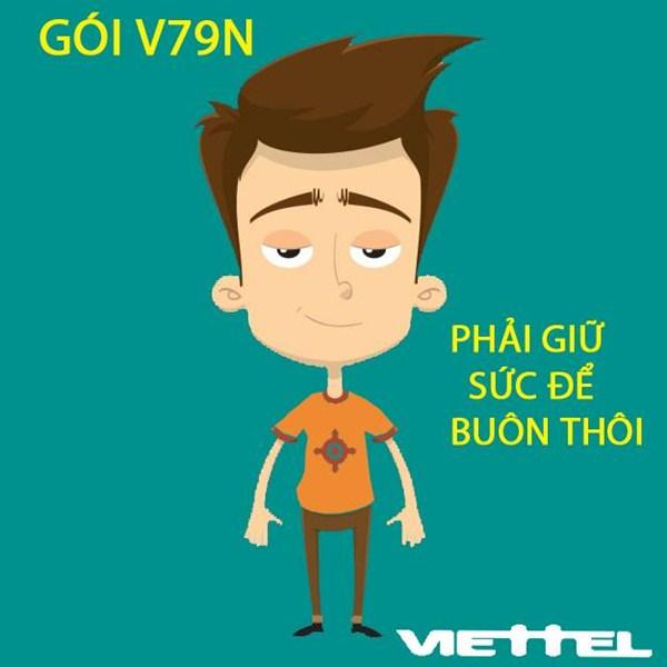 Học nhanh cách đăng kí gói V79N Viettel nhận ngay ưu đãi lớn nhất