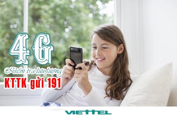 Hướng dẫn cách kiểm tra dung lượng 4G viettel nhanh chóng nhất