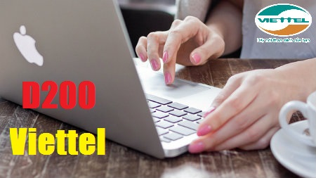 Cách nhận ưu đãi hấp dẫn từ gói 3G D200  Viettel