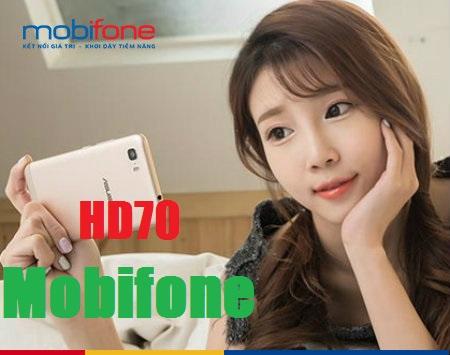 Cách nhận ưu đãi 2.4Gb data từ gói HD70 Mobifone