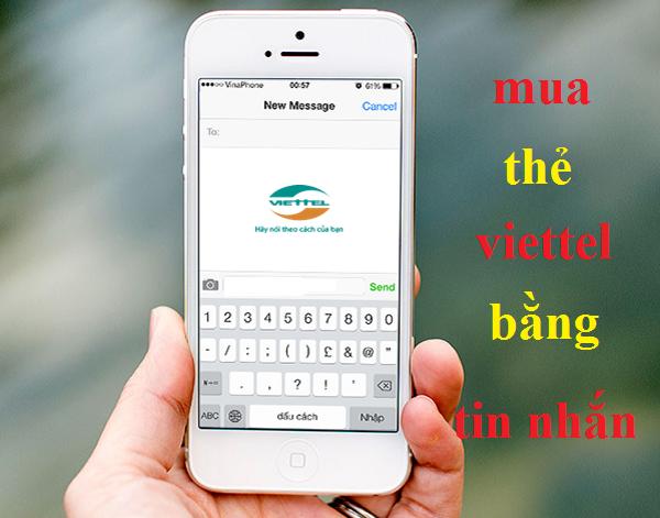 Mẹo mua thẻ viettel bằng tin nhắn đơn giản, thuận tiện