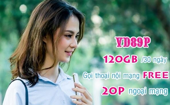 Bật mí cách nhận ưu đãi 120GB từ gói VD89P Vinaphone