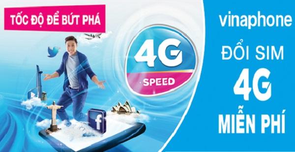 Những ưu đãi hấp dẫn nhận được khi thực hiện đổi sim 4G vinaphone