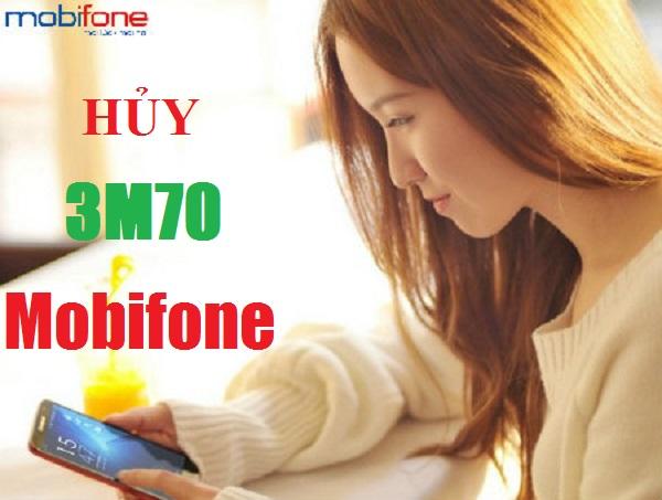 Mẹo hủy gói cước 3M70 của Mobifone dễ dàng qua tin nhắn?