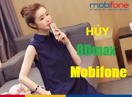 Bật mí cách hủy gói cước 8Dmax của Mobifone