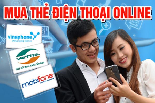 Để mua the dien thoai online, bạn cần gì?