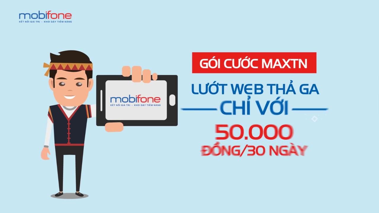 Tặng 100GB data khi tham gia gói MaxTN Mobifone