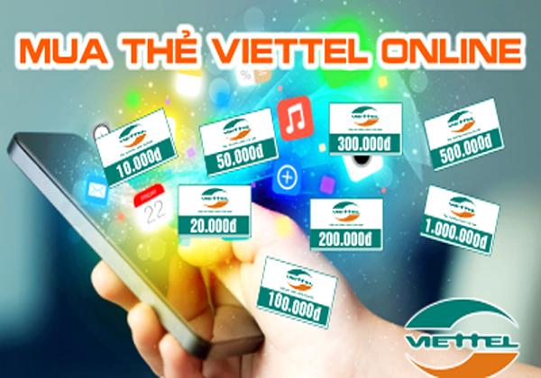 Mua thẻ viettel online chiết khấu bao nhiêu?