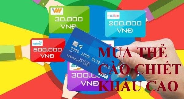 Làm sao để mua thẻ cào Viettel online giá gốc, giá sỉ?