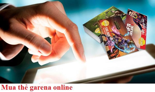 Các hình thức mua thẻ garena phổ biến nhất