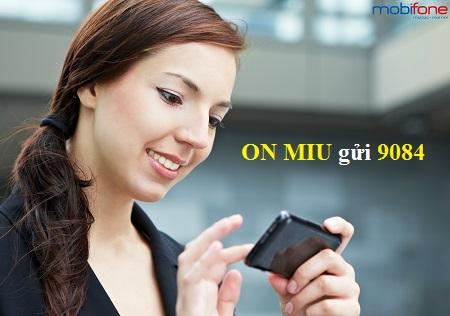 Đăng kí nhanh gói MIU mobifone nhận ngay ưu đãi cực khủng